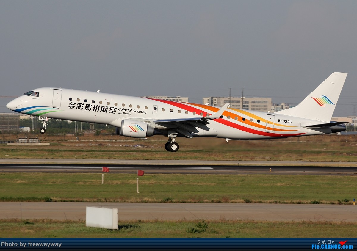 Re:[原创]【TSN飞友会】多彩贵州新飞机 B-3225 EMBRAER E-190 B-3225 中国天津滨海国际机场
