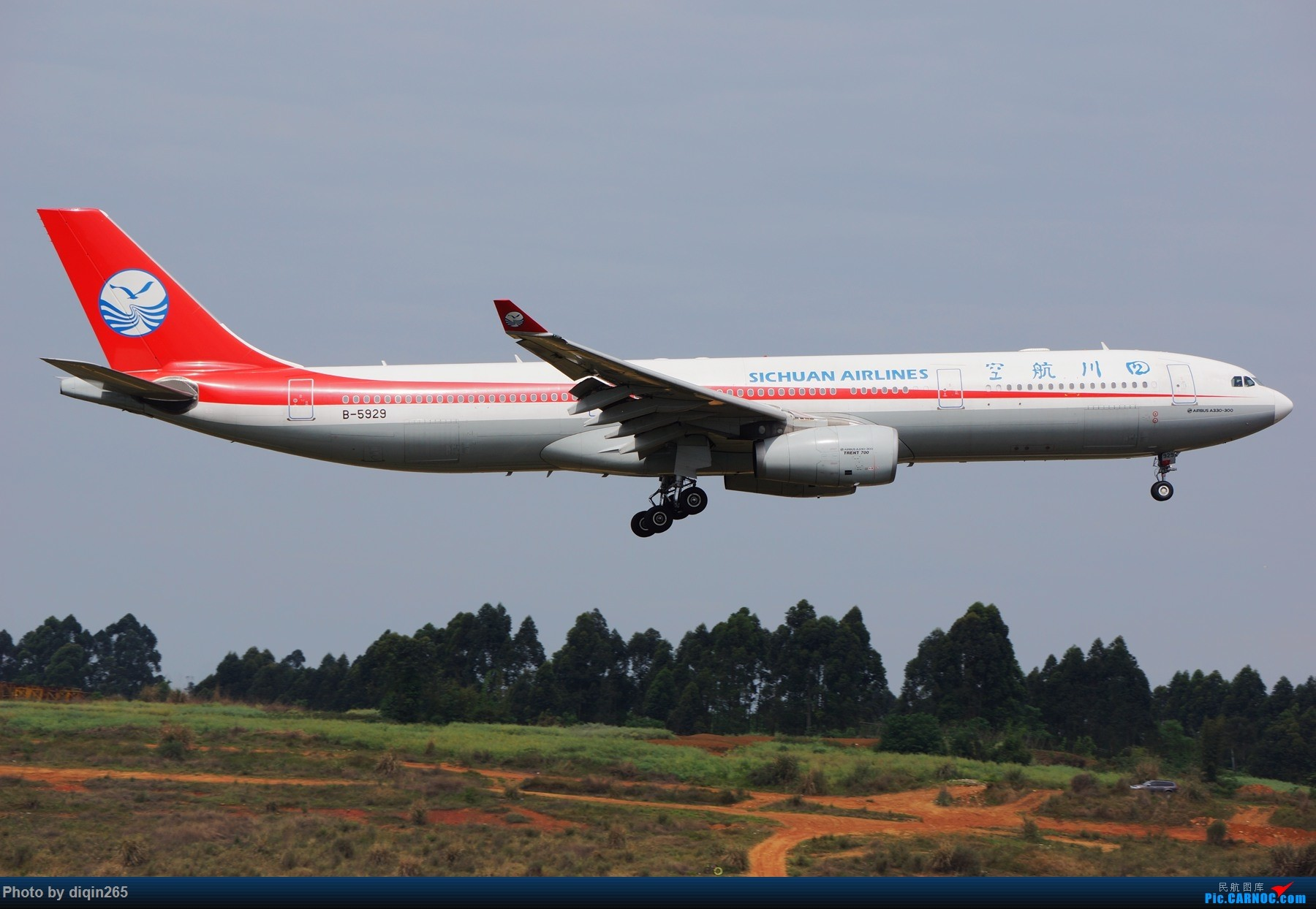 Re:[原创]CTU四月的一个周六 AIRBUS A330-300 B-5929 中国成都双流国际机场