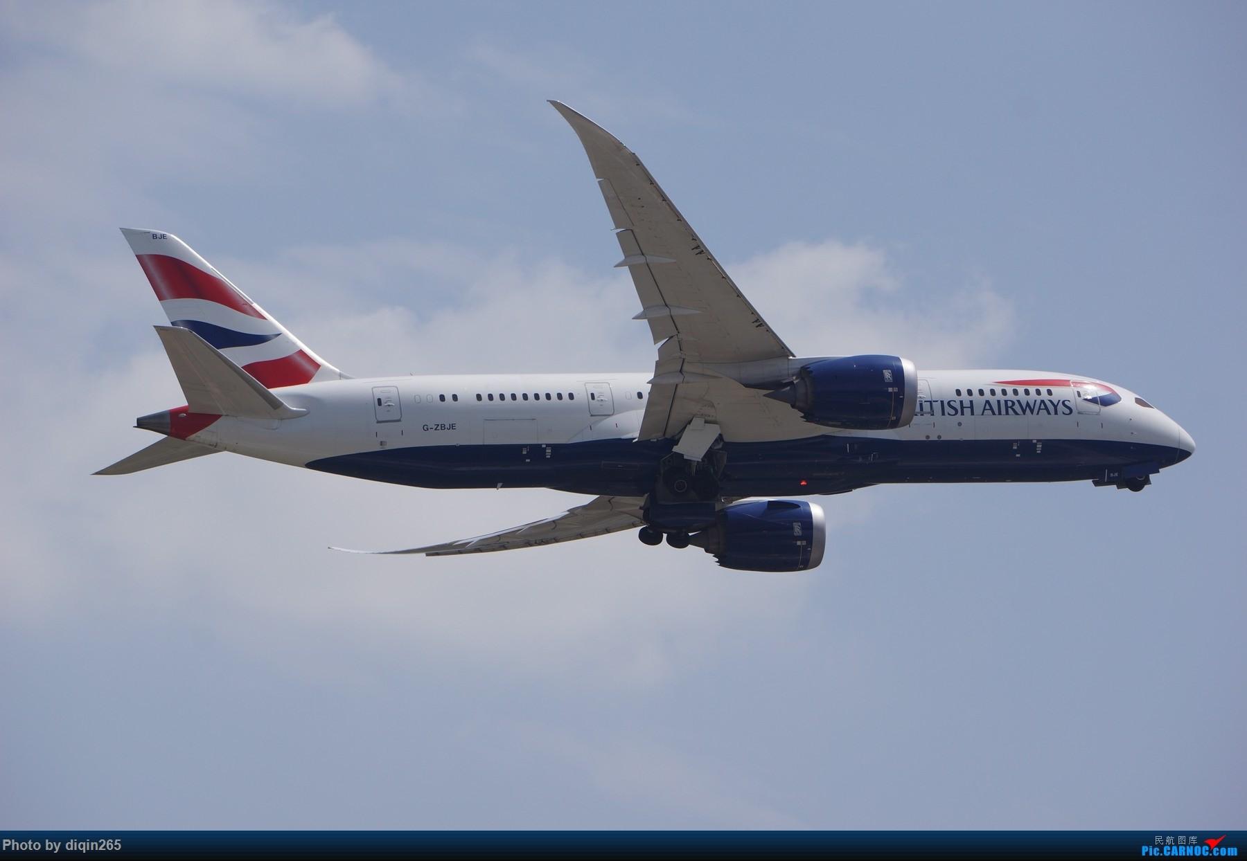 Re:[原创]CTU四月的一个周六 BOEING 787-8 G-ZBJE 中国成都双流国际机场