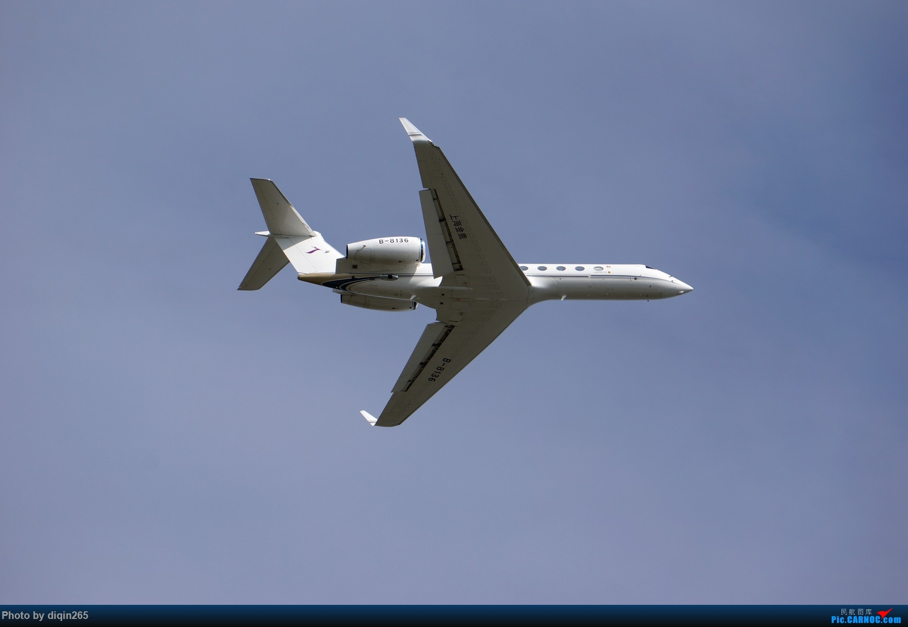 Re:[原创]CTU四月的一个周六 GULFSTREAM G550 B-8136 中国成都双流国际机场
