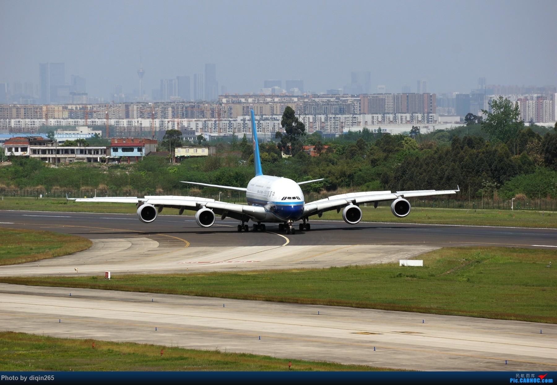 Re:[原创]CTU四月的一个周六 AIRBUS A380 B-6139 中国成都双流国际机场