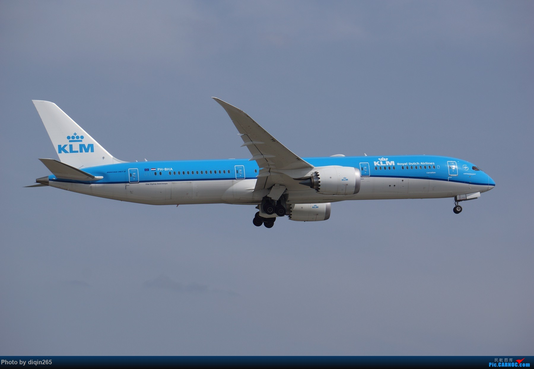Re:[原创]CTU四月的一个周六 BOEING 787-9 PH-BHA 中国成都双流国际机场