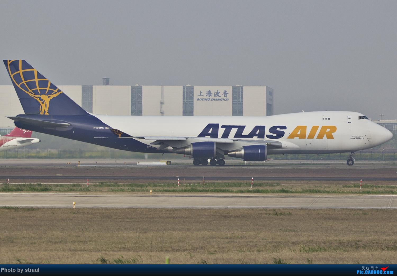 Re:[原创]「多图多机」浦东&虹桥 BOEING 747-47UF/SCD N493MC 中国上海浦东国际机场