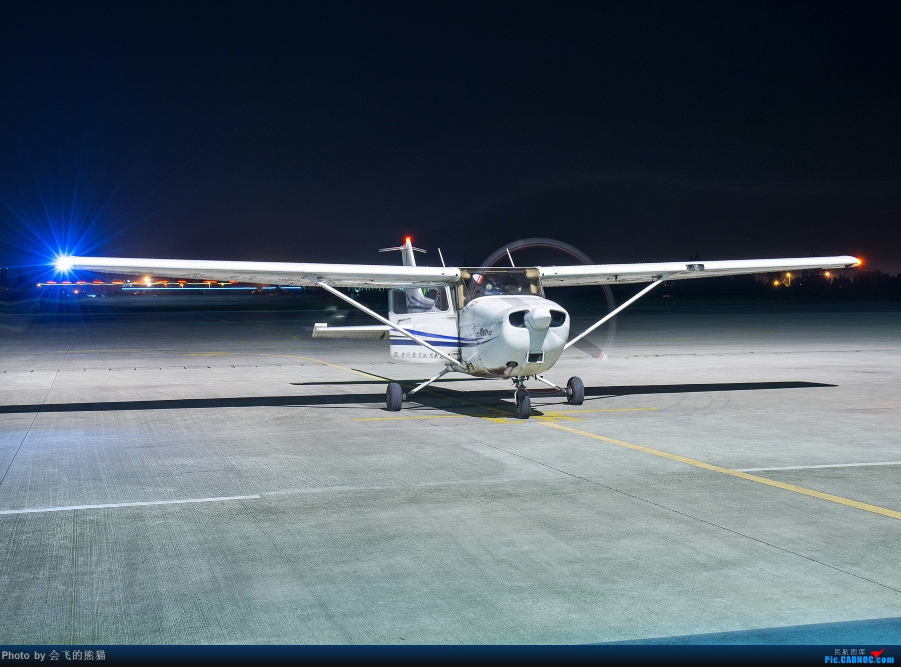 Re:[原创]夜新津 CESSNA 172R B-7927 新津机场