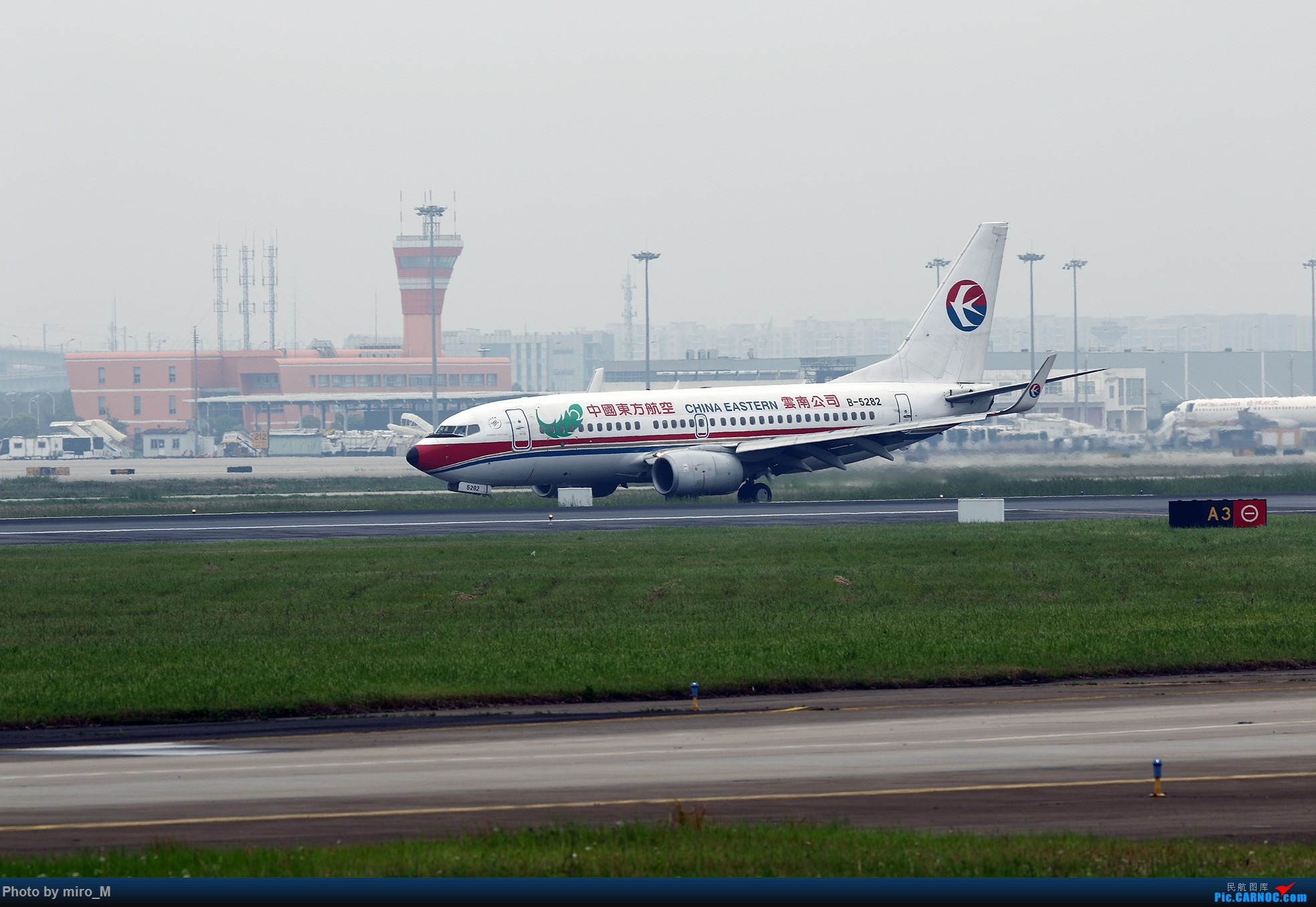 Re:[原创]烂天普通货………………虹桥412-414拍机合集 BOEING 737-700 B-5282 中国上海虹桥国际机场