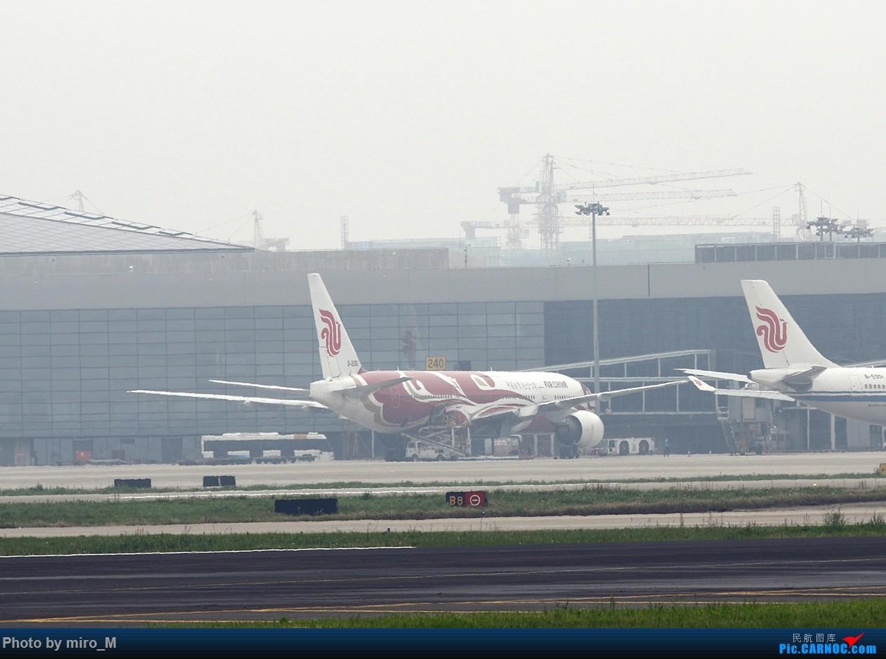 Re:[原创]烂天普通货………………虹桥412-414拍机合集 BOEING 777-200 B-2060 中国上海虹桥国际机场