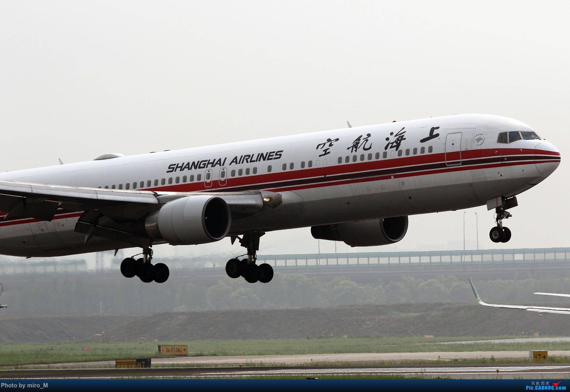 Re:烂天普通货………………虹桥412-414拍机合集 BOEING 767-300 B-2498 中国上海虹桥国际机场