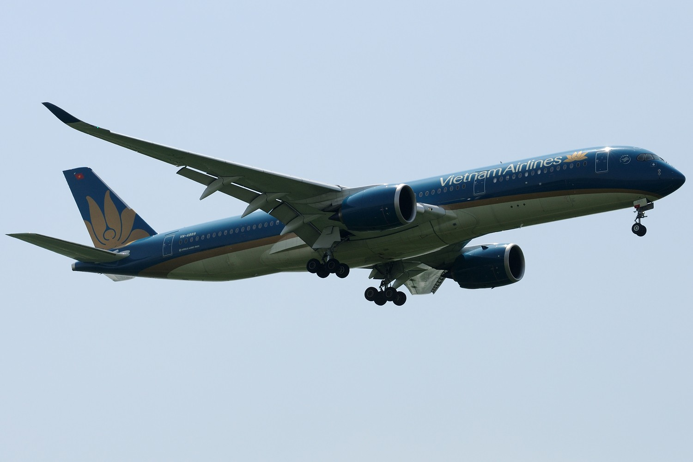 [原创]【PVG】第一次拍到的越南航空A350-900 VN-A889 AIRBUS A350-900 VN-A889 中国上海浦东国际机场
