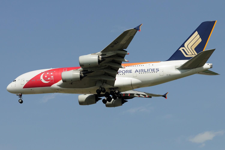 Re:[原创]【PVG】第一次拍到的越南航空A350-900 VN-A889 AIRBUS A380 9V-SKJ 中国上海浦东国际机场