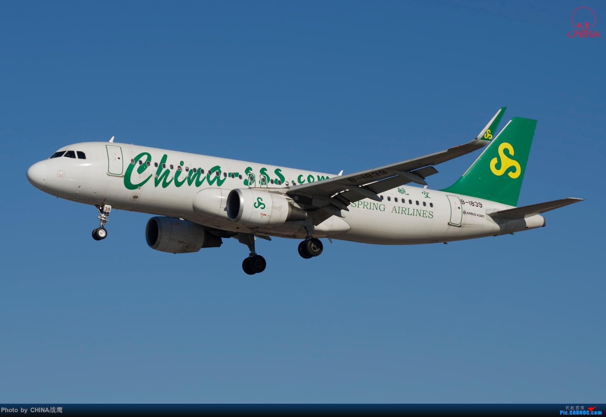 Re:[原创]拍飞机的乐趣 AIRBUS A320-200 B-1839 中国沈阳桃仙国际机场