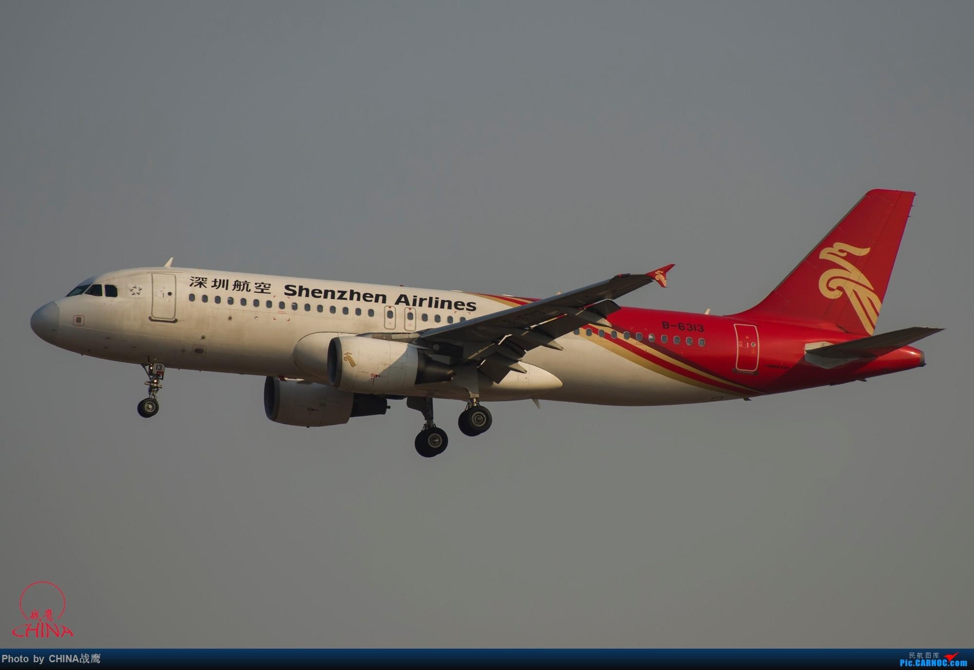 Re:[原创]拍飞机的乐趣 AIRBUS A320-200 B-6313 中国沈阳桃仙国际机场