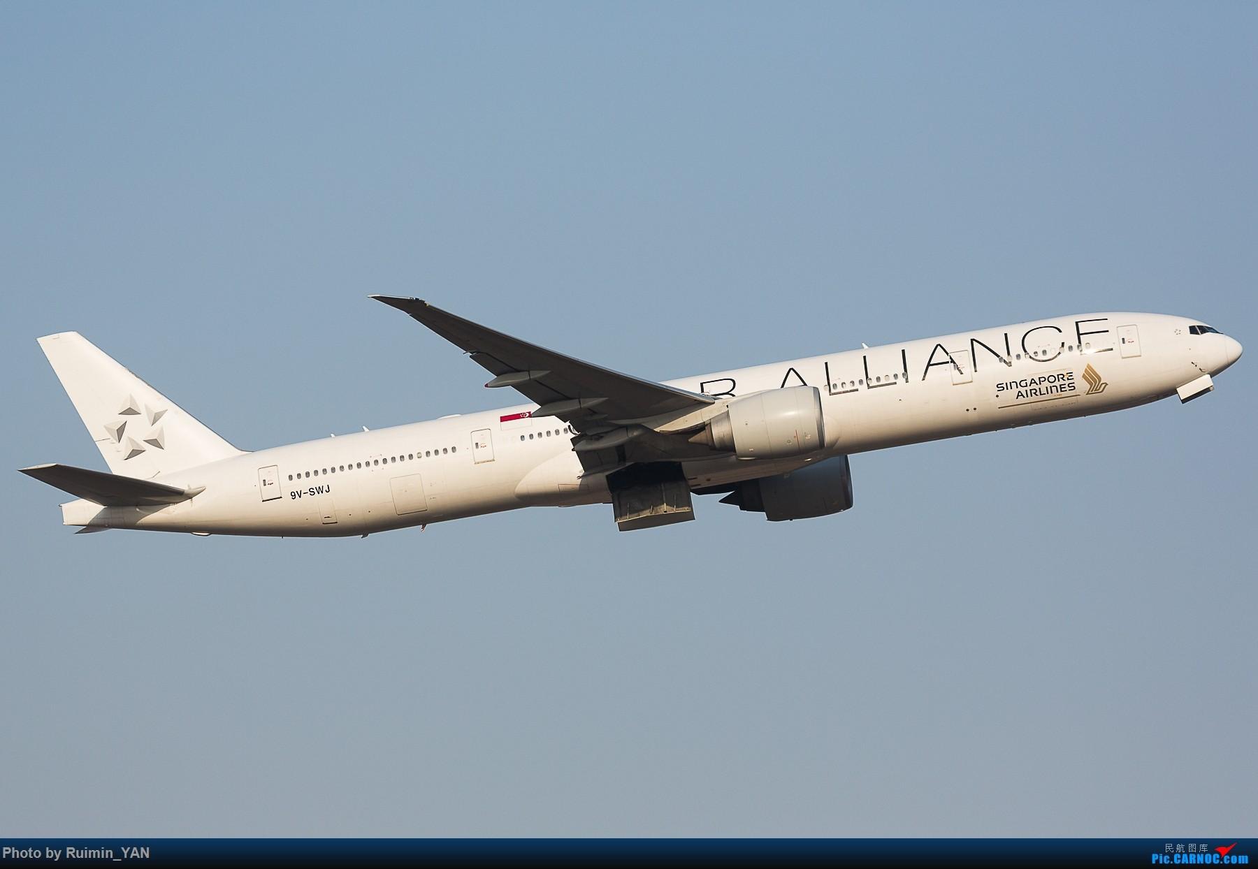 Re:【PEK飞友会】新加坡航空(SQ807)77W--白猩猩9V-SWJ,普装9V-SWN BOEING 777-300ER 9V-SWJ 中国北京首都国际机场