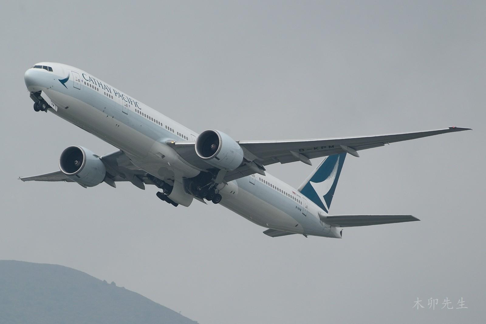 Re:[原创]【木卯先生99】—【2016年香港拍机新发现】—2016 BOEING 777-300ER B-KPM 香港赤鱲角国际机场