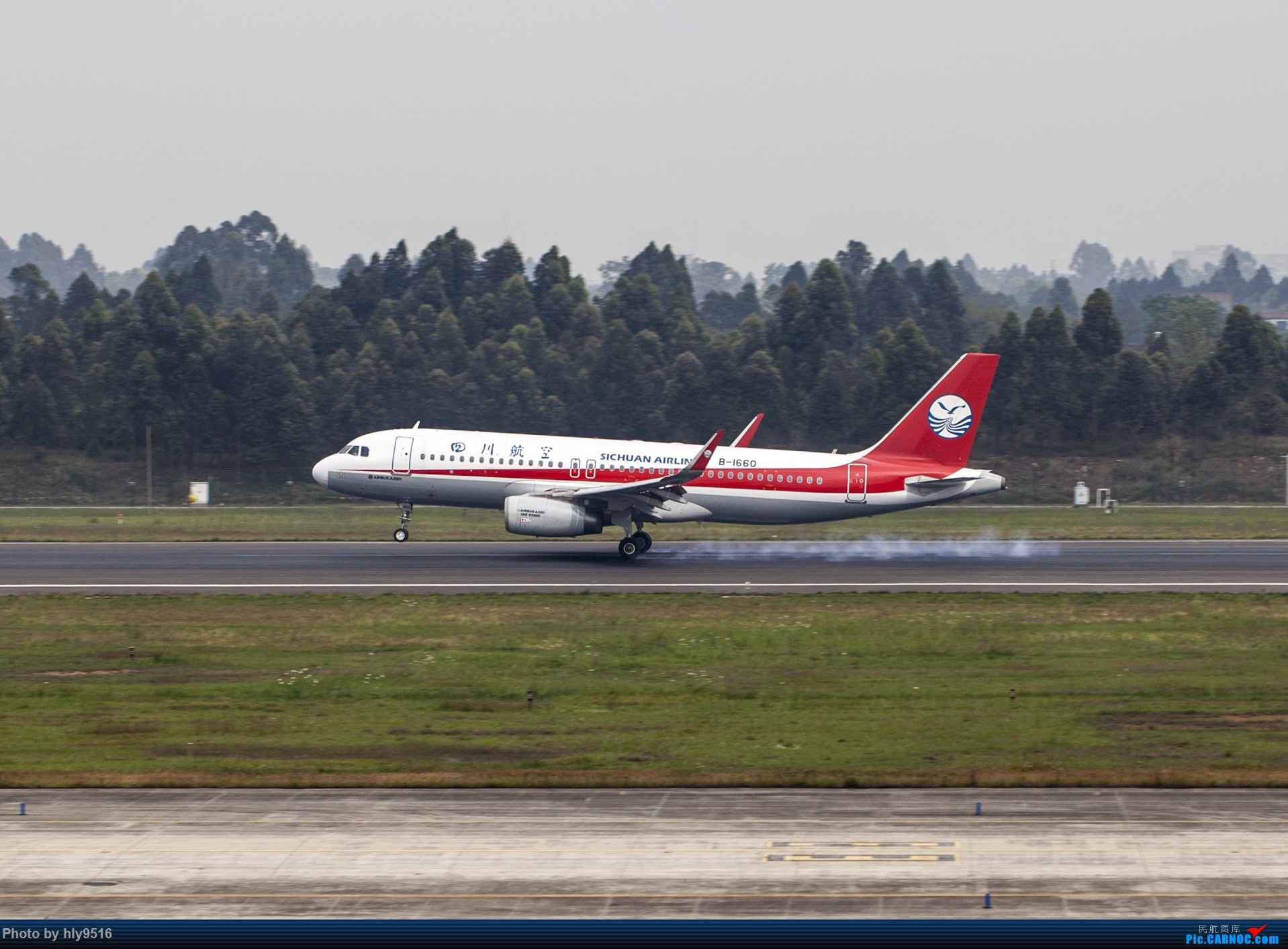 Re:[原创]【CTU】终于解决了大怨念南航A380 偶遇长荣新涂装 两次复飞 小怨念若干 AIRBUS A320-200 B-1660 中国成都双流国际机场