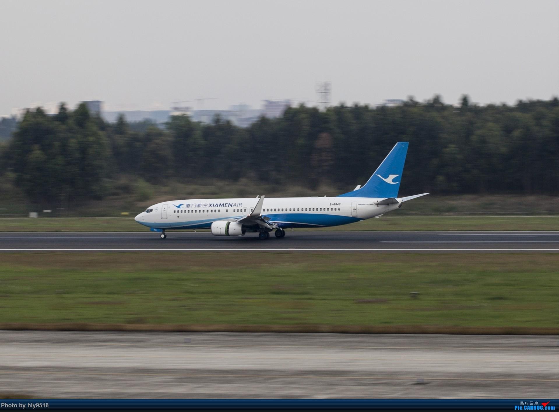 Re:[原创]【CTU】终于解决了大怨念南航A380 偶遇长荣新涂装 两次复飞 小怨念若干 BOEING 737-800 B-6842 中国成都双流国际机场
