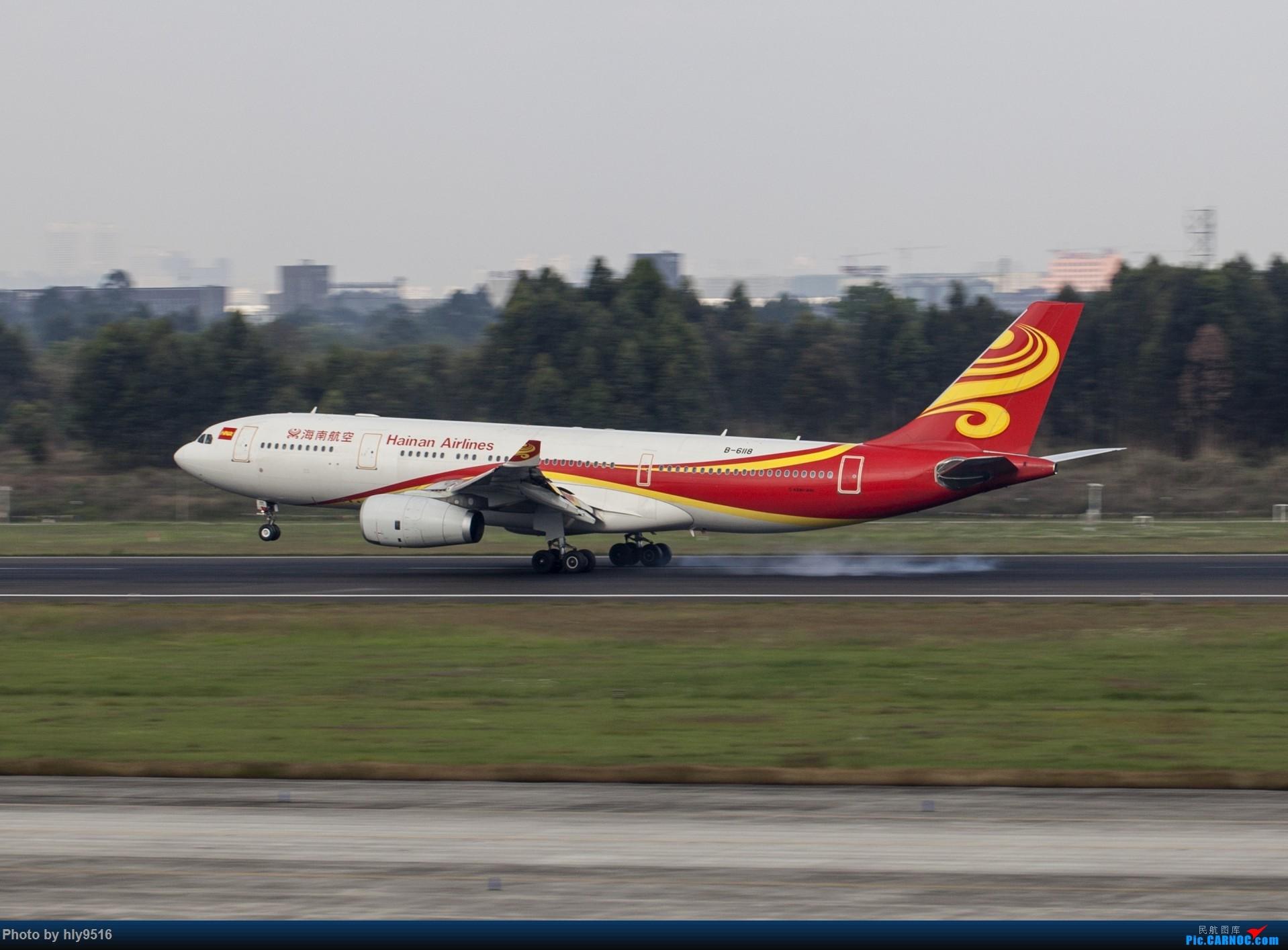 Re:[原创]【CTU】终于解决了大怨念南航A380 偶遇长荣新涂装 两次复飞 小怨念若干 AIRBUS A330-200 B-6118 中国成都双流国际机场