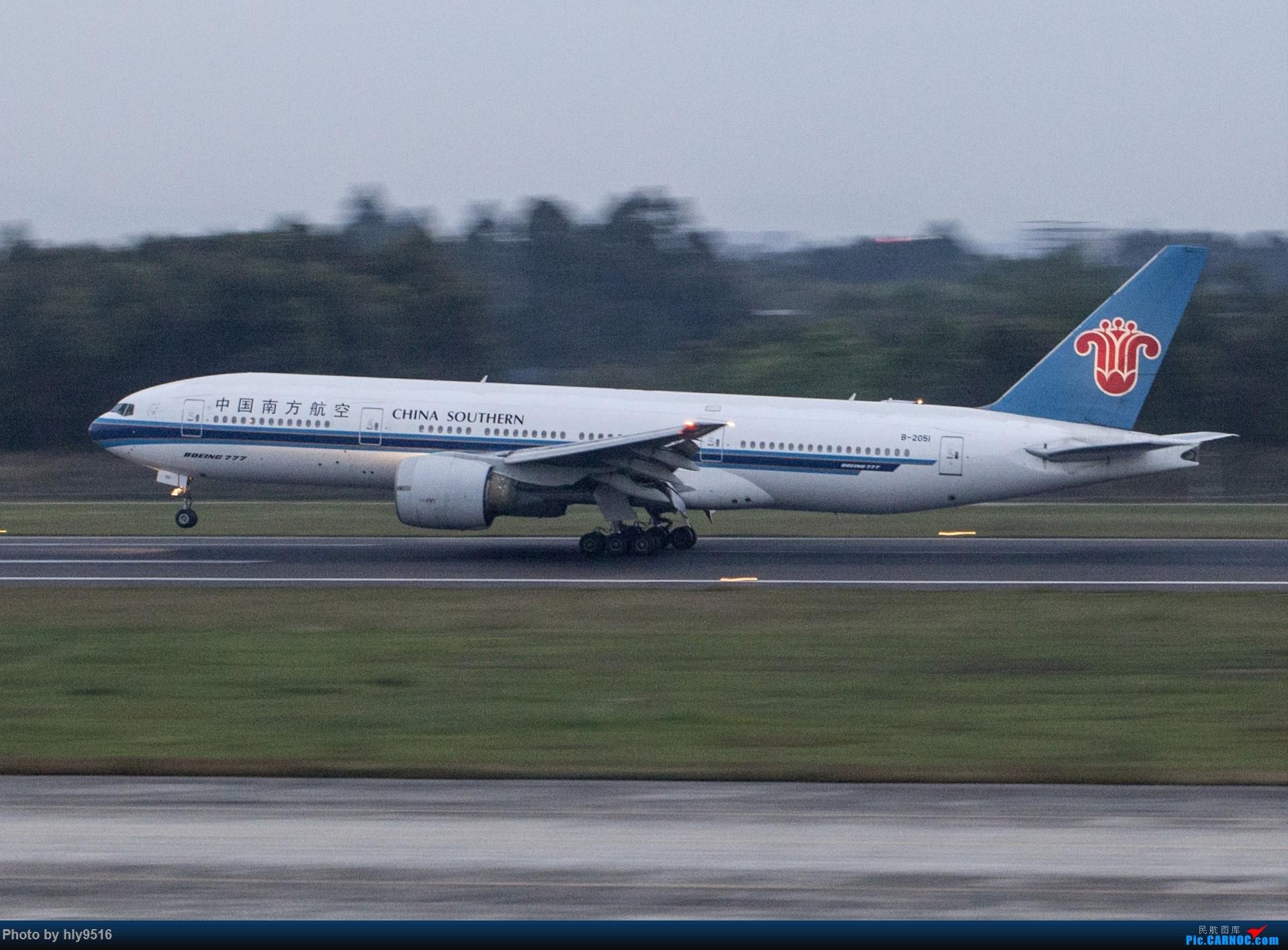 Re:[原创]【CTU】终于解决了大怨念南航A380 偶遇长荣新涂装 两次复飞 小怨念若干 BOEING 777-200 B-2051 中国成都双流国际机场