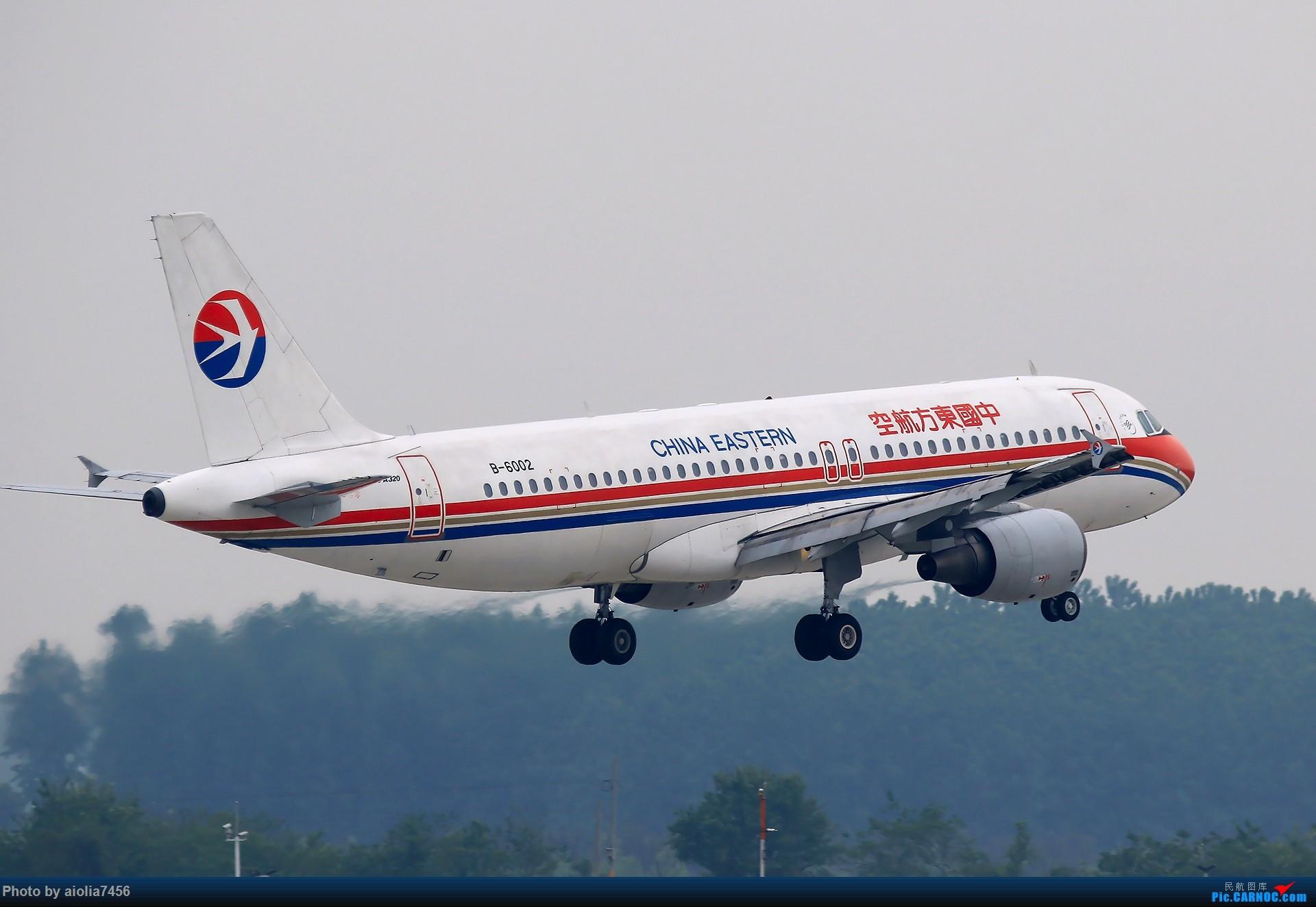 Re:[霸都打机队]HFE烂天周末,居然第一次看到了739,上大图 AIRBUS A320-200 B-6002 中国合肥新桥国际机场