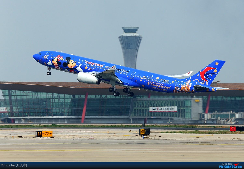 [原创]东航空客A330客机涂上迪士尼彩绘很漂亮2016,4,26首航北京首都国际机场 AIRBUS A330-300 B-6120 中国北京首都国际机场