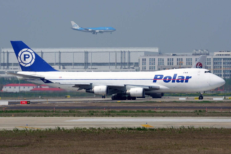 Re:【PVG】来一组卡狗 BOEING 747-400 N450PA 中国上海浦东国际机场