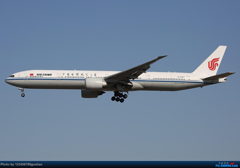 Re:归置点儿PEK国航 BOEING 777-300ER B-2087 北京首都机场
