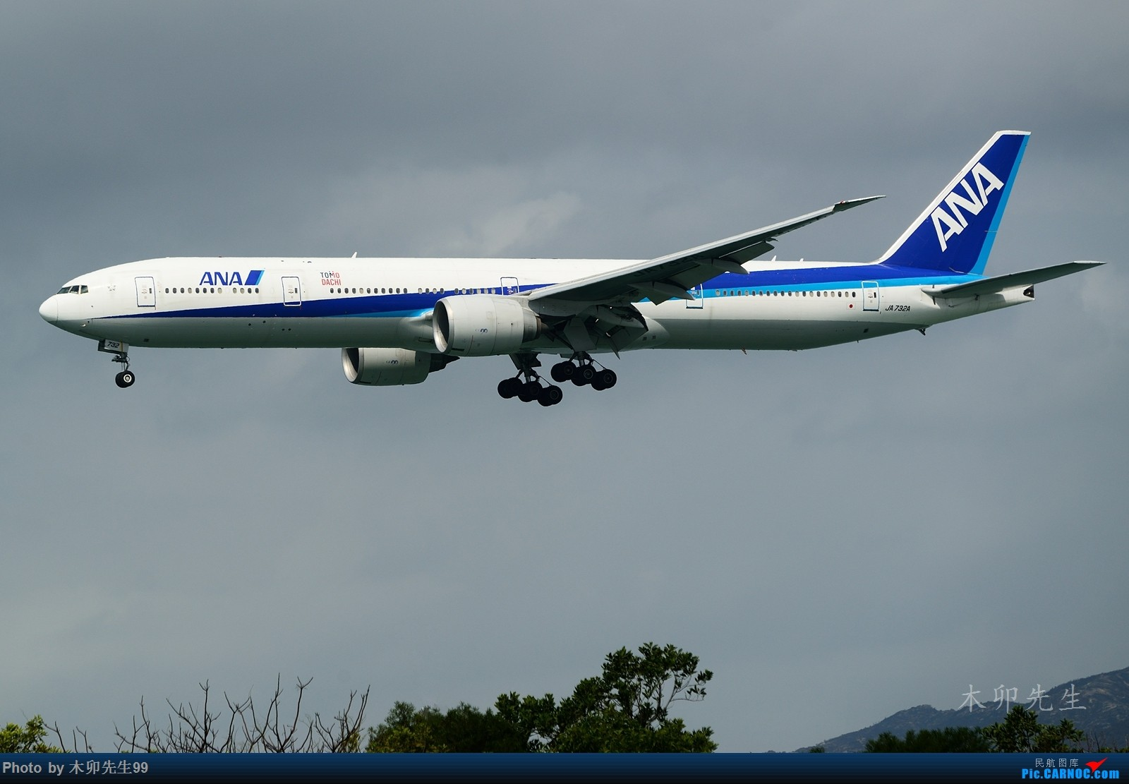 Re:[原创]【木卯先生99】—【2016年香港拍机新发现】—2016(不断添加) BOEING 777-300ER JA732A 香港赤鱲角国际机场