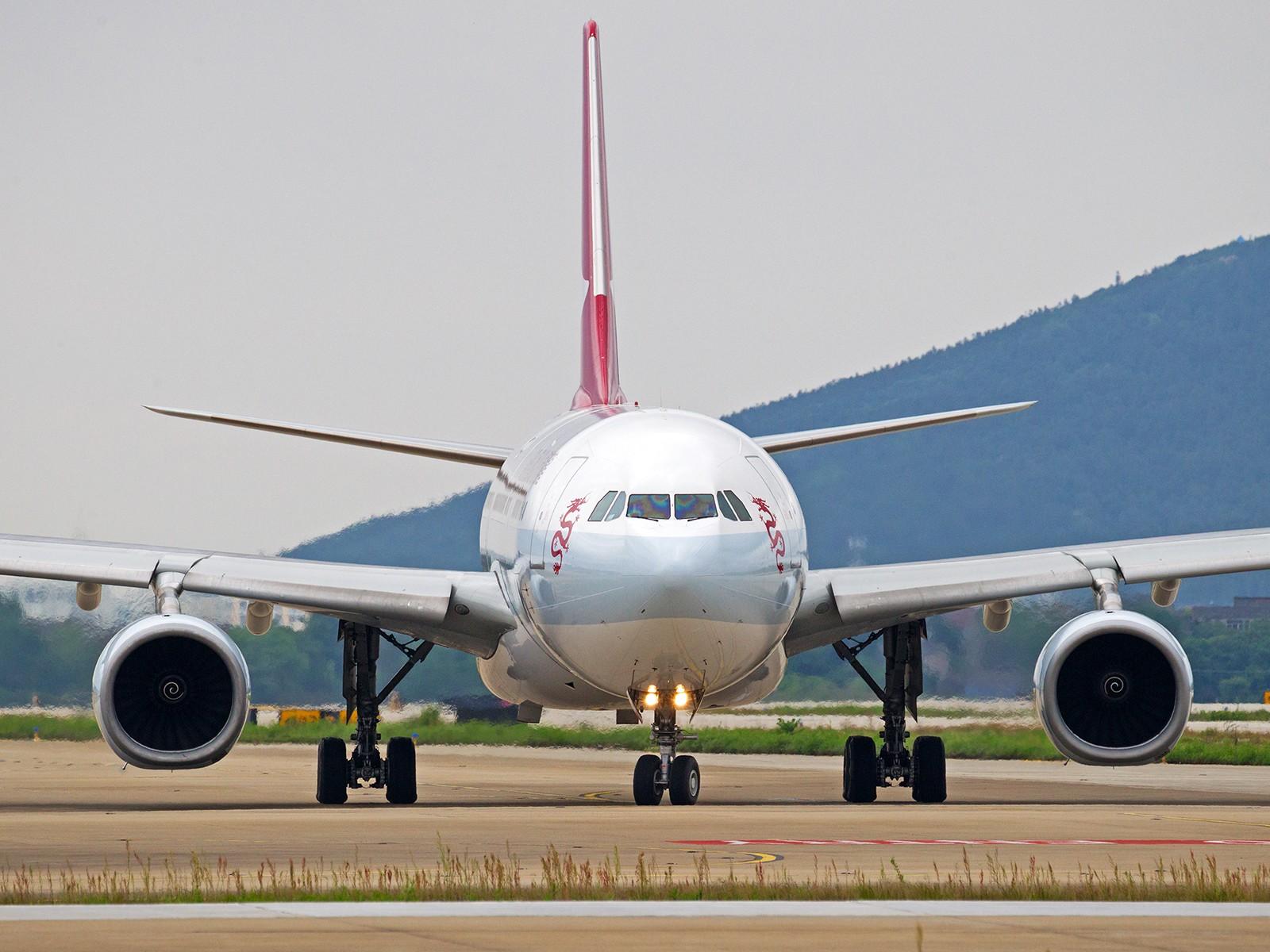 "Re:[原创][BLDDQ]******NKG带血的""鱼翅""----今天就它落地到起飞那三小时大雨停了****** AIRBUS A330-300 B-HYQ 中国南京禄口国际机场"