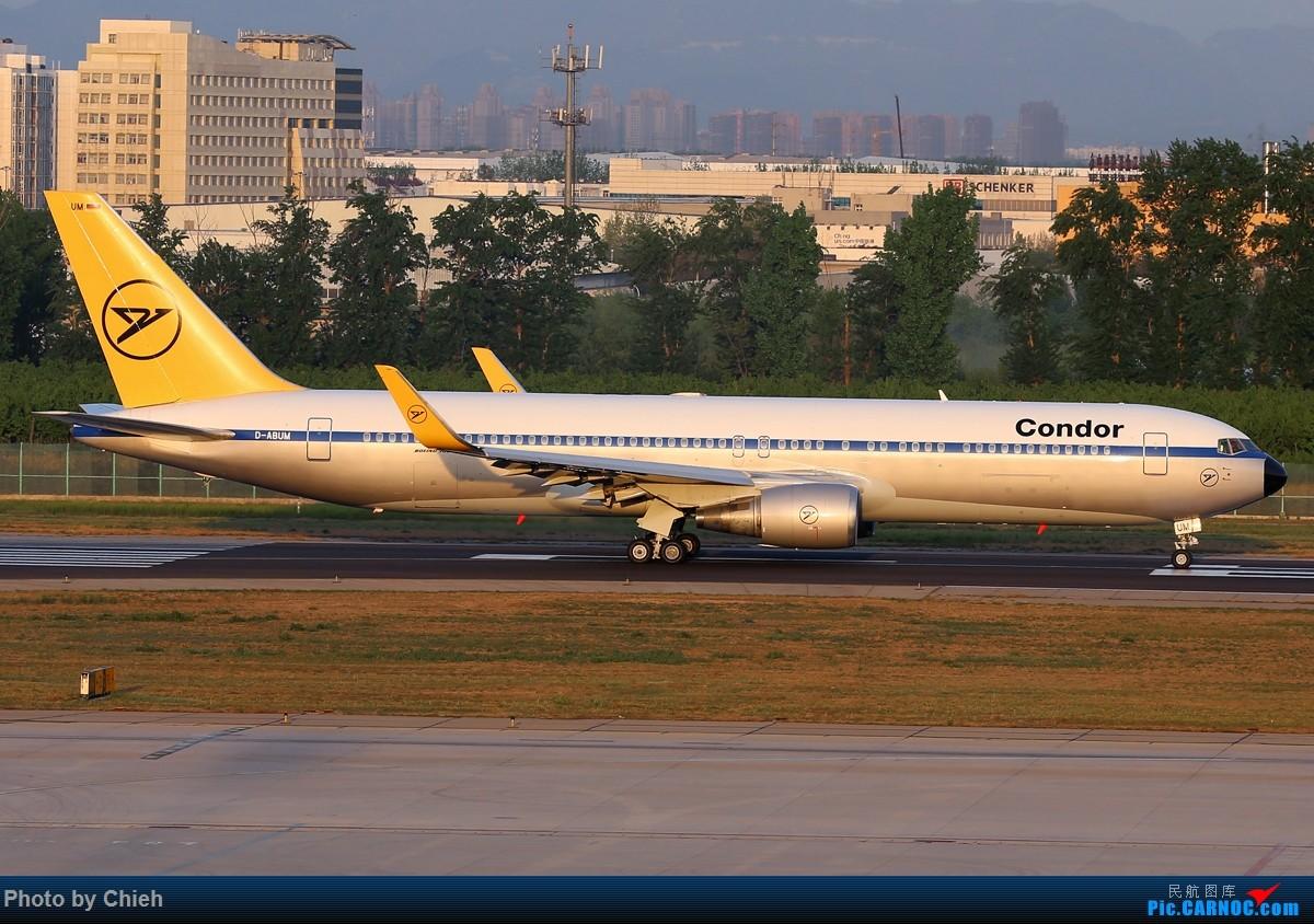 [原创]2016-04,偶遇Condor B767~ BOEING 767-300 D-ABUM 中国北京首都国际机场