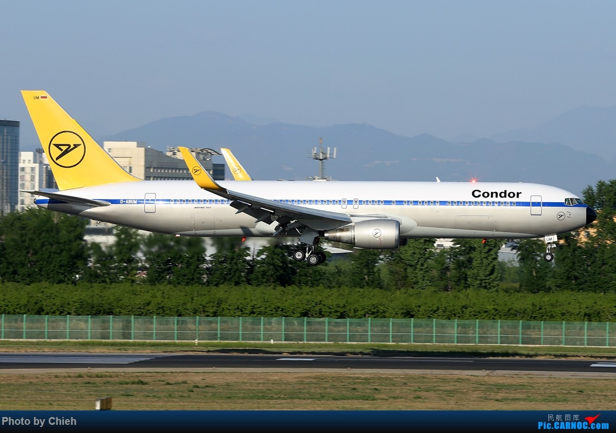 Re:[原创]2016-04,偶遇Condor B767~ BOEING 767-300 D-ABUM 中国北京首都国际机场