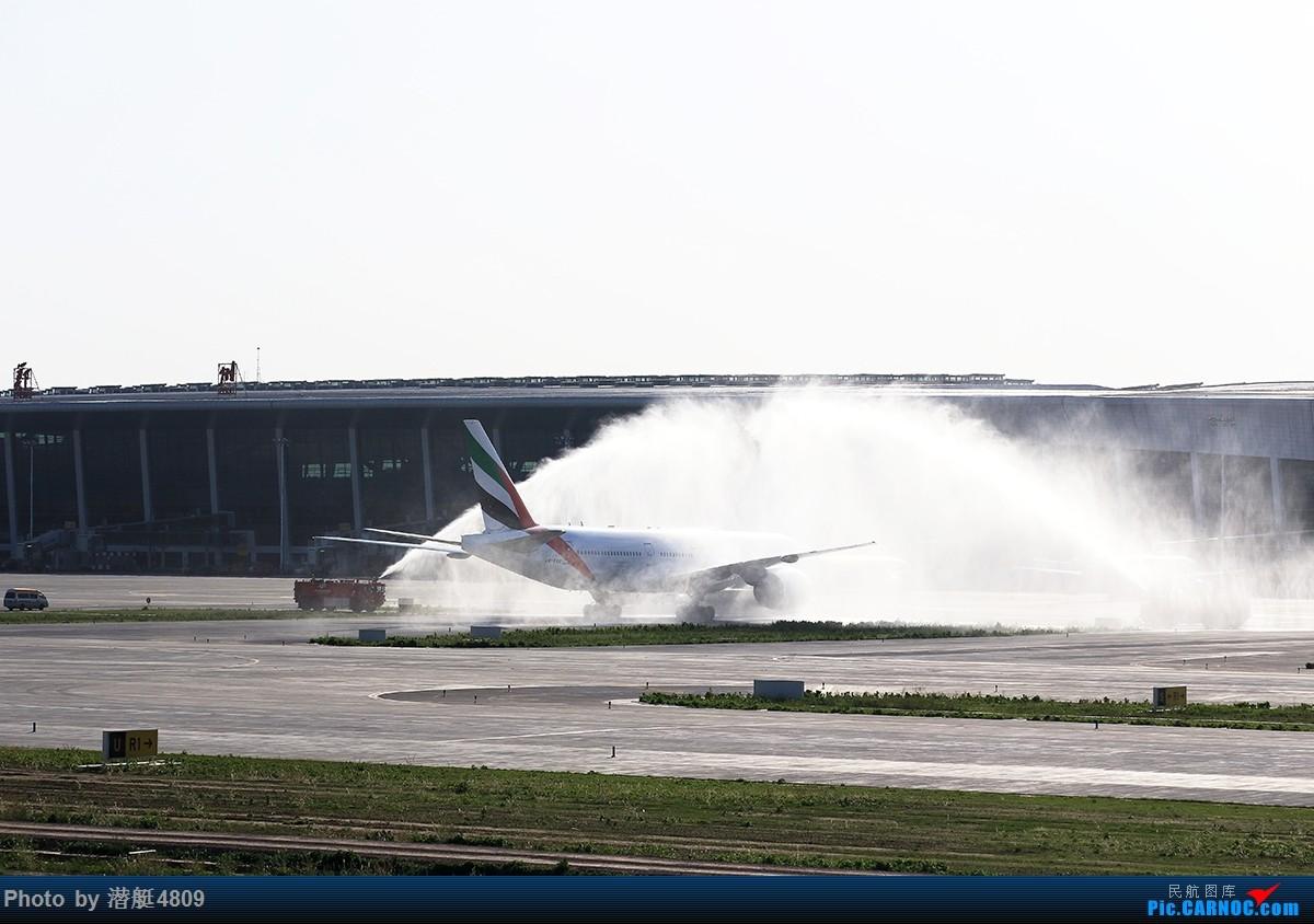 Re:[原创][郑州飞友会]阿联酋航空首航郑州 波音777-200LR A6-ENC 新郑国际机场
