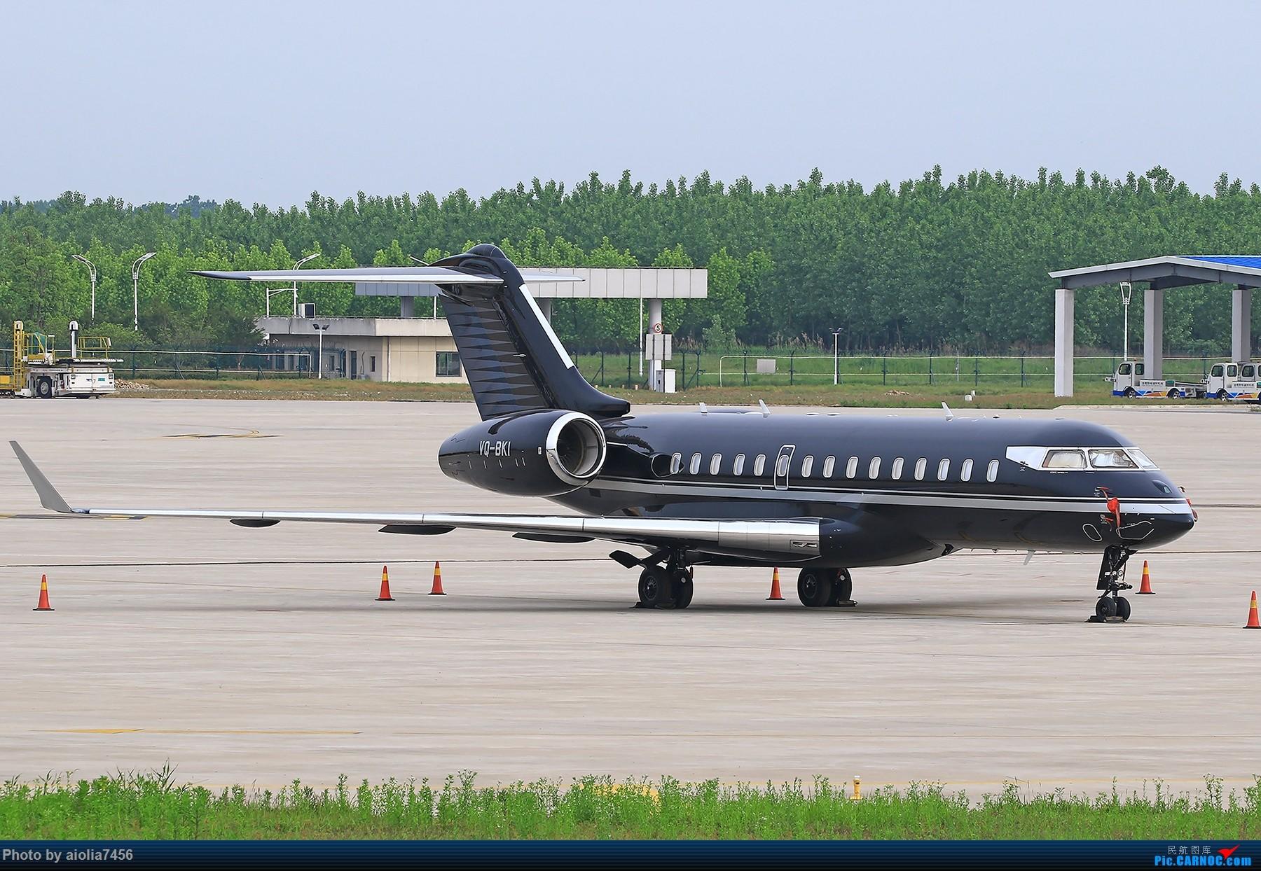 Re:[原创][合肥飞友会]霸都打鸡 找个机会白天打华航 顺便看看期待已久的迪斯尼 BOMBARDIER BD-700-1A10 VQ-BKI 中国合肥新桥国际机场