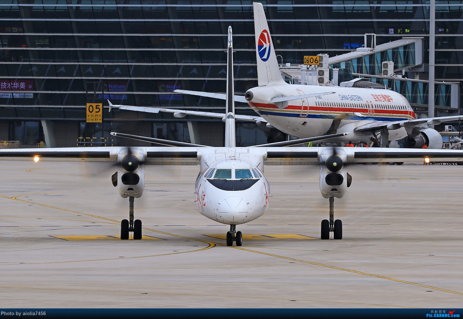 Re:[原创][合肥飞友会]霸都打鸡 找个机会白天打华航 顺便看看期待已久的迪斯尼 XIAN AIRCRAFT MA 60 B-3716 中国合肥新桥国际机场