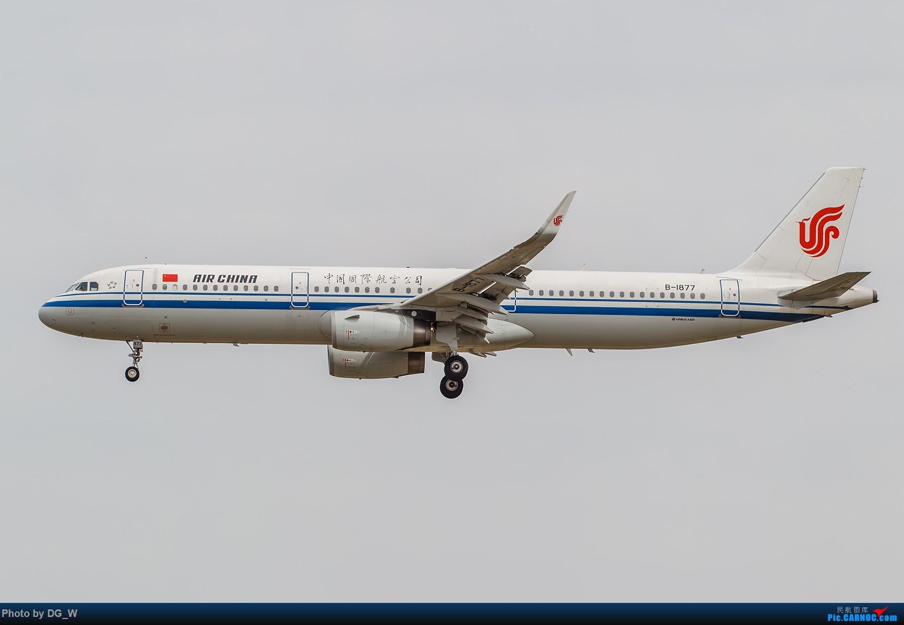 Re:[原创]【南宁飞友】第一次在PEK01跑道拍机 AIRBUS A321-200 B-1877 中国北京首都国际机场