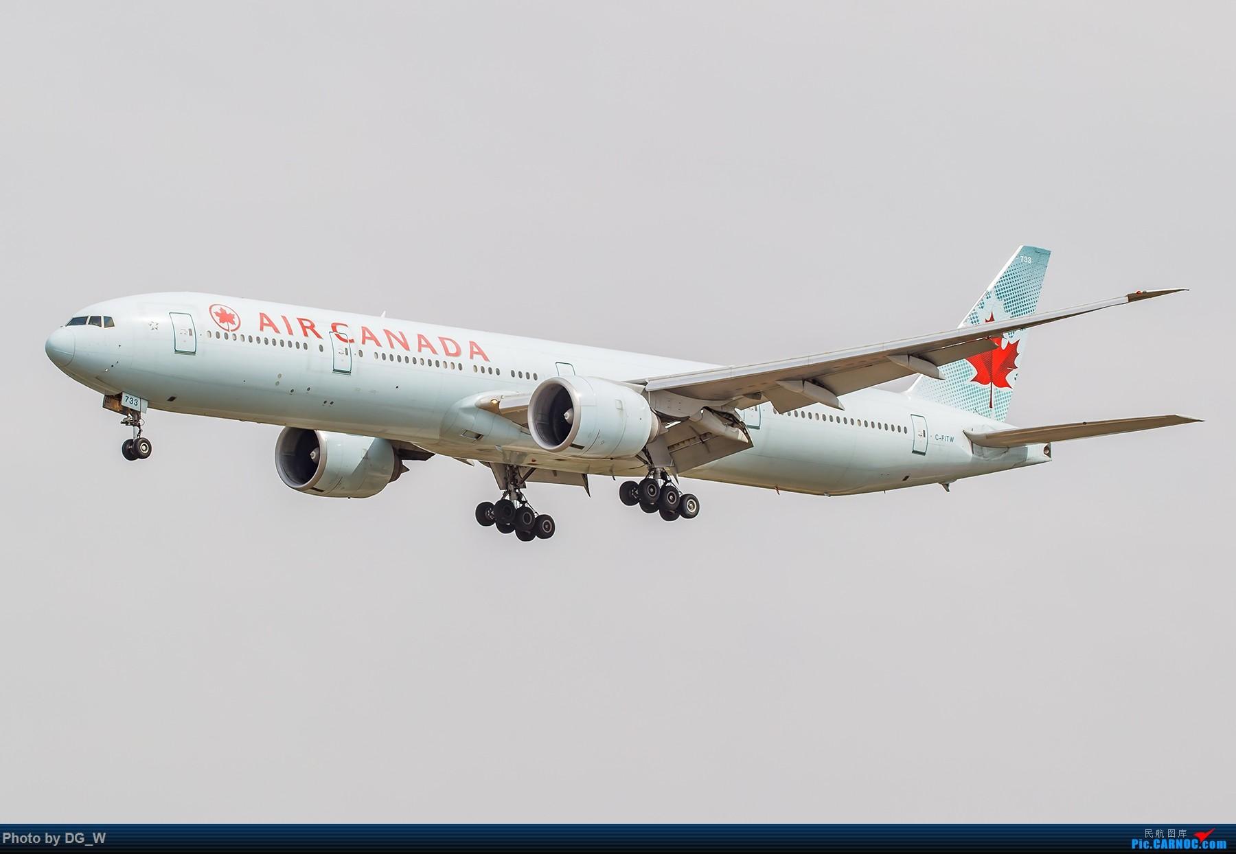 Re:[原创]【南宁飞友】第一次在PEK01跑道拍机 BOEING 777-300ER C-FITW 中国北京首都国际机场
