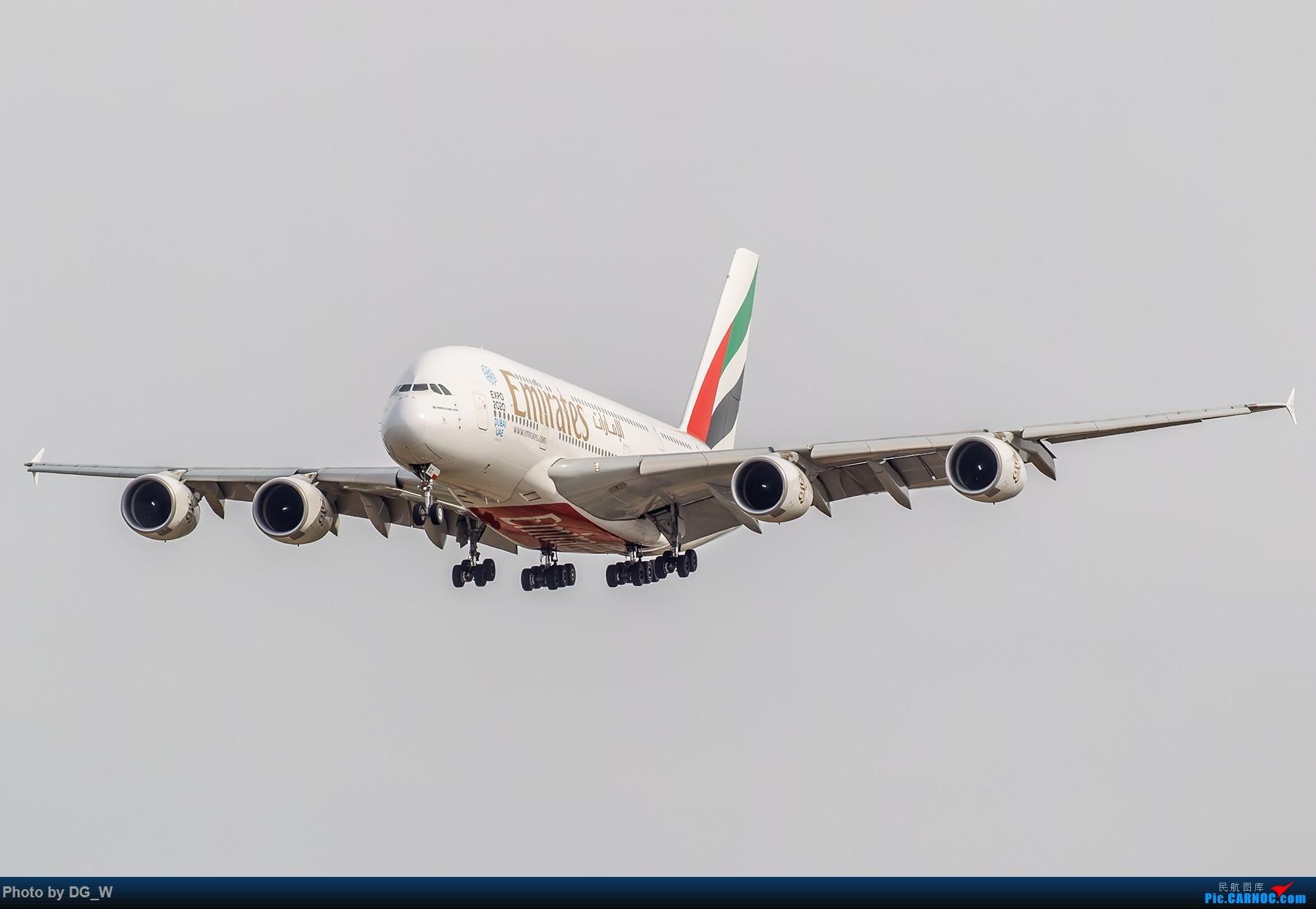 Re:【南宁飞友】第一次在PEK01跑道拍机 AIRBUS A380-800 A6-EEC 中国北京首都国际机场