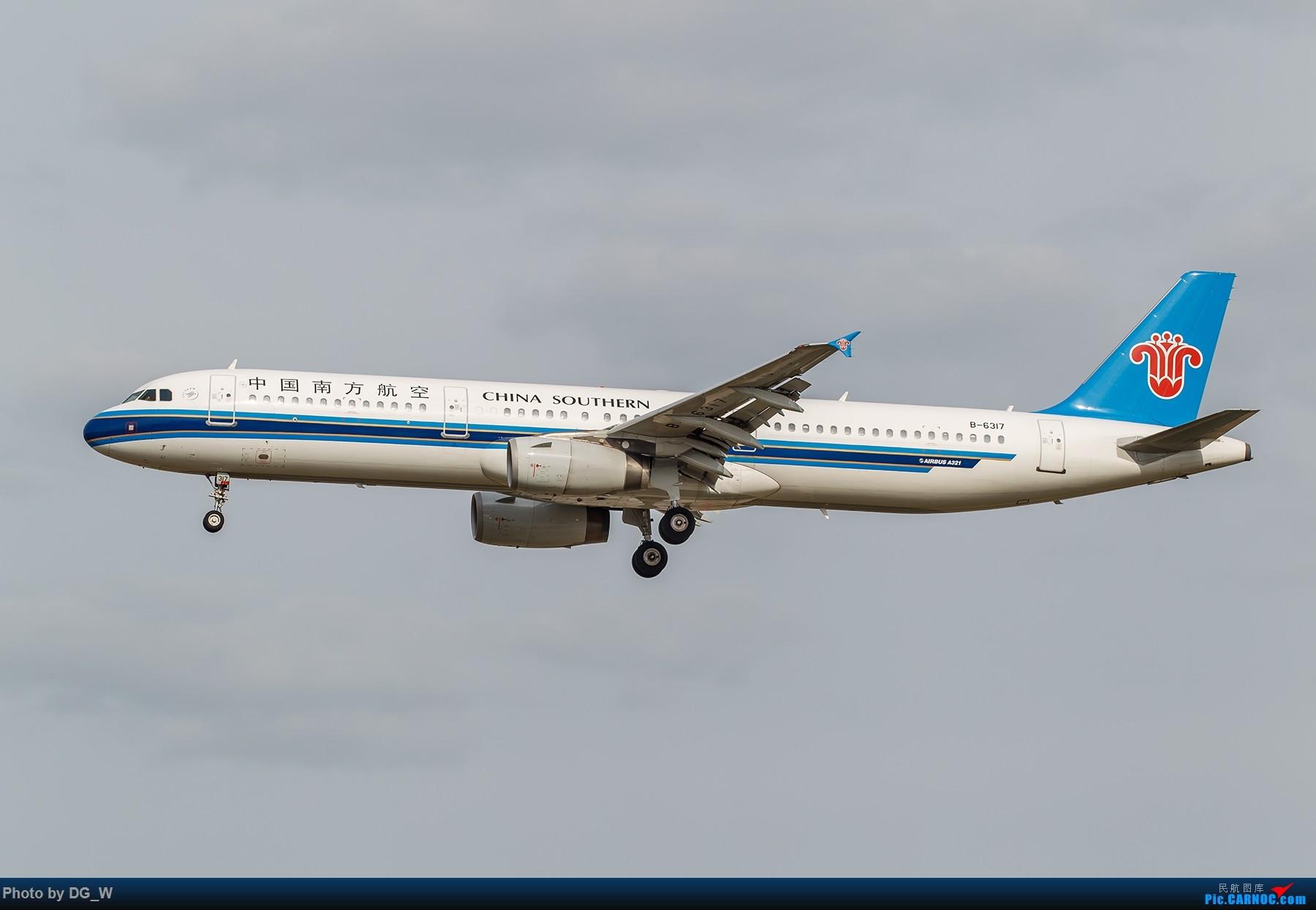 Re:[原创]【南宁飞友】第一次在PEK01跑道拍机 AIRBUS A321-200 B-6317 中国北京首都国际机场