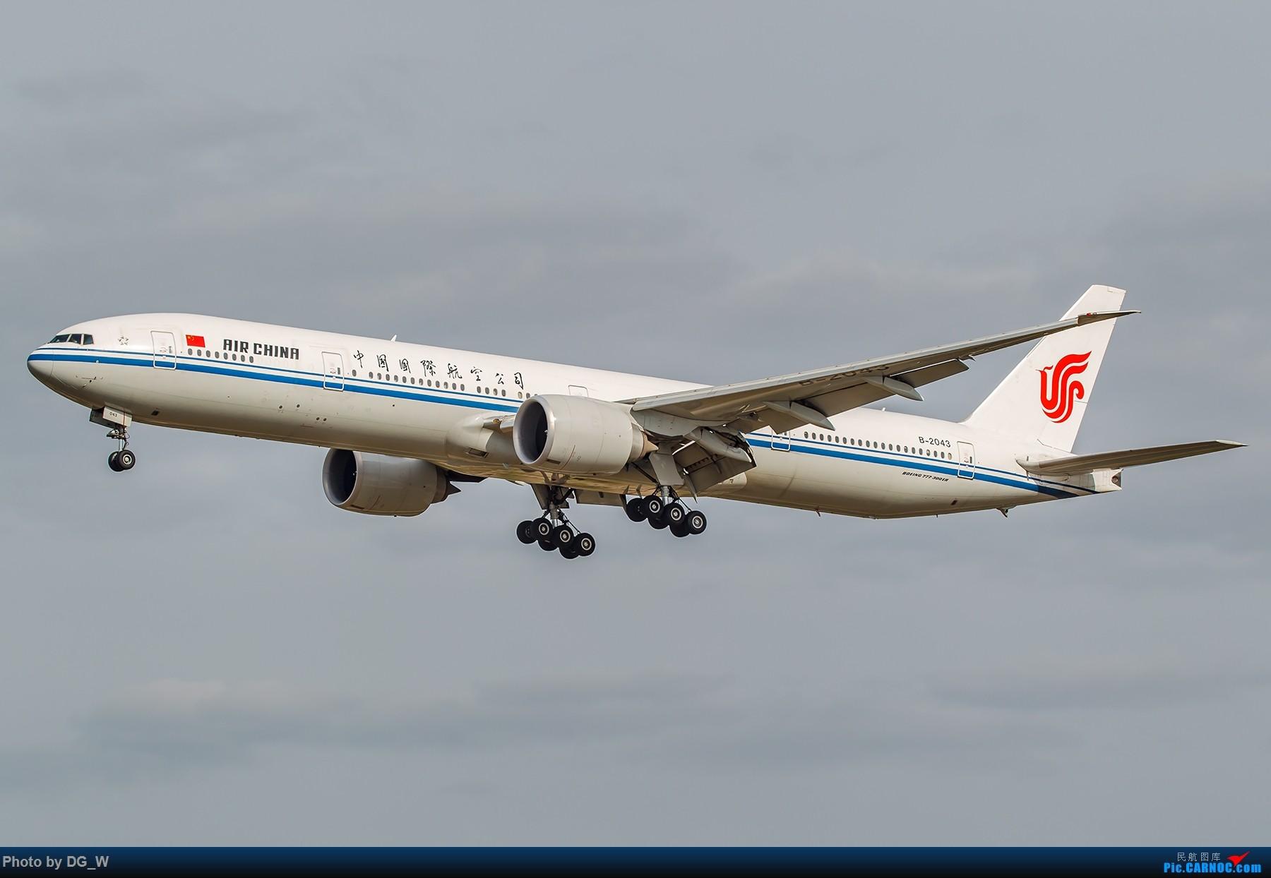 Re:[原创]【南宁飞友】第一次在PEK01跑道拍机 BOEING 777-300ER B-2043 中国北京首都国际机场