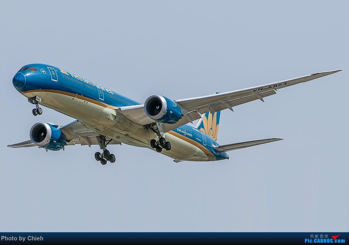 [原创]2016-05-06,越南航空B787-9,VN-A864~ BOEING 787-9 VN-A864 中国北京首都国际机场