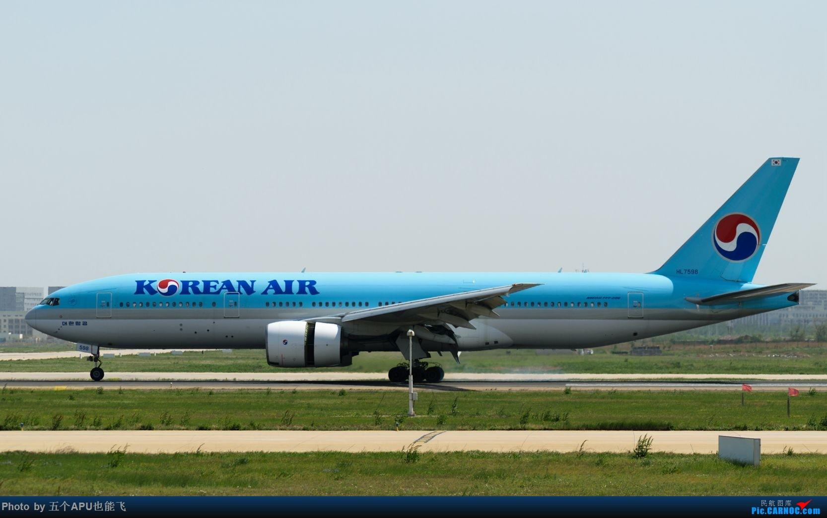 Re:[原创]TSN日常 BOEING 777-200 HL-7598 中国天津滨海国际机场