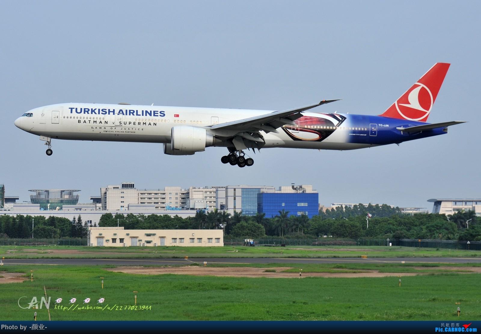 Re:[原创]2011-2016我的打灰机心情[广州] BOEING 777-300ER TC-JJN 中国广州白云国际机场