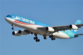 【北美飞友会】Air Tahiti Nui 大溪地航空 Airbus 340-300 F-OSUN