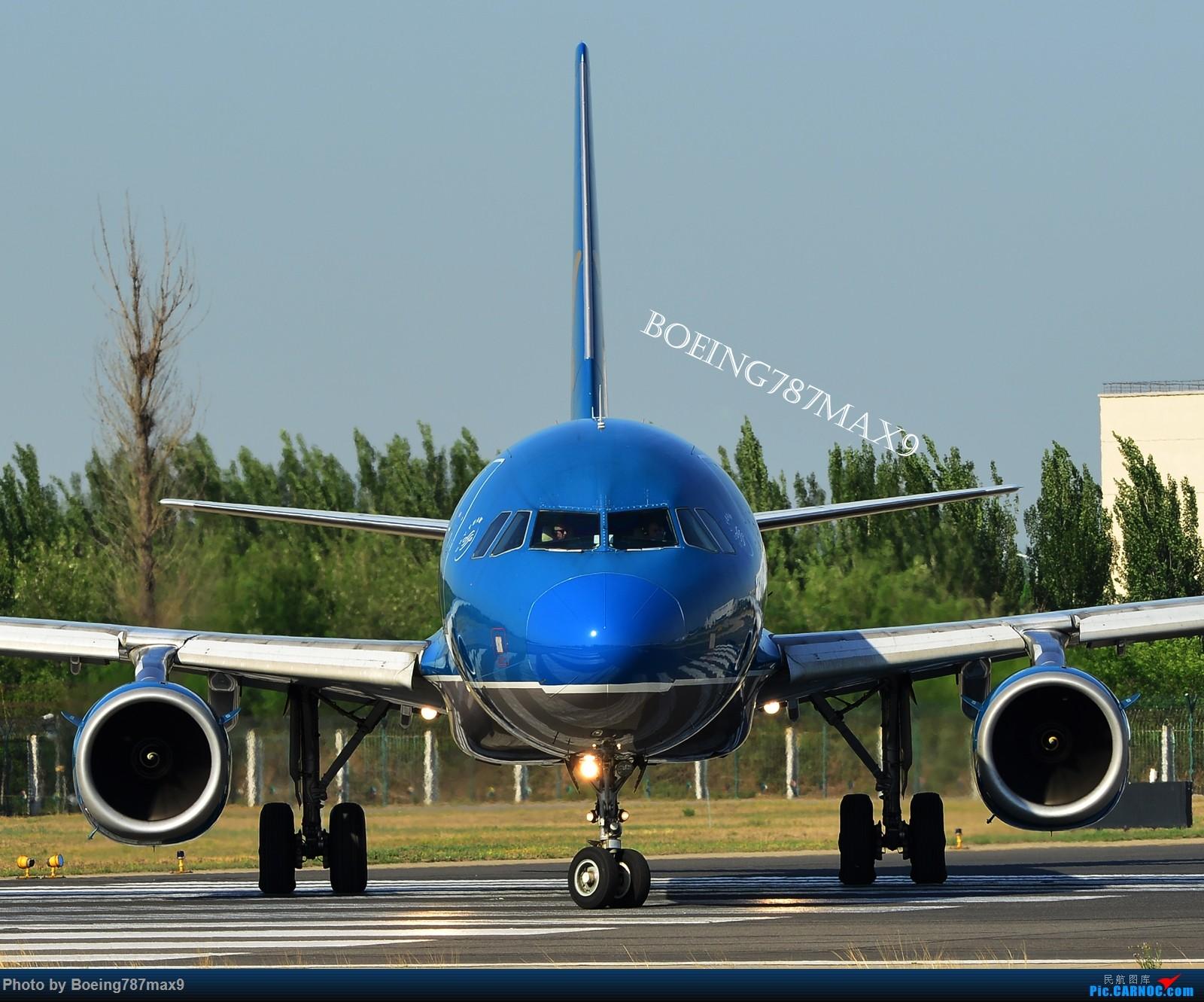 [原创]【PEK】独一无二独特的拍摄角度,超有震撼力的机头『1600*高清大图』 AIRBUS A321 VN-A329 中国北京首都国际机场