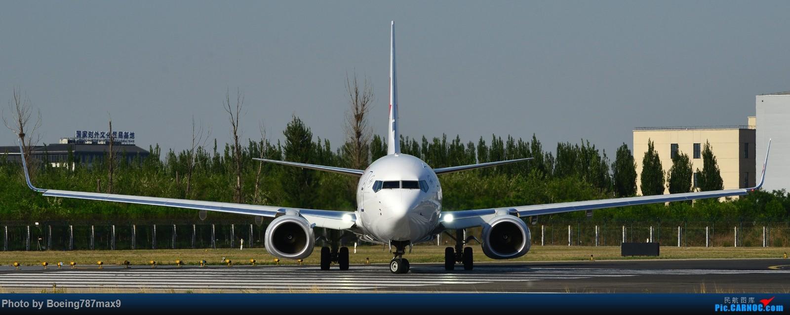 Re:[原创]【PEK】独一无二独特的拍摄角度,超有震撼力的机头『1600*高清大图』 BOEING 737-800 B-7590 中国北京首都国际机场