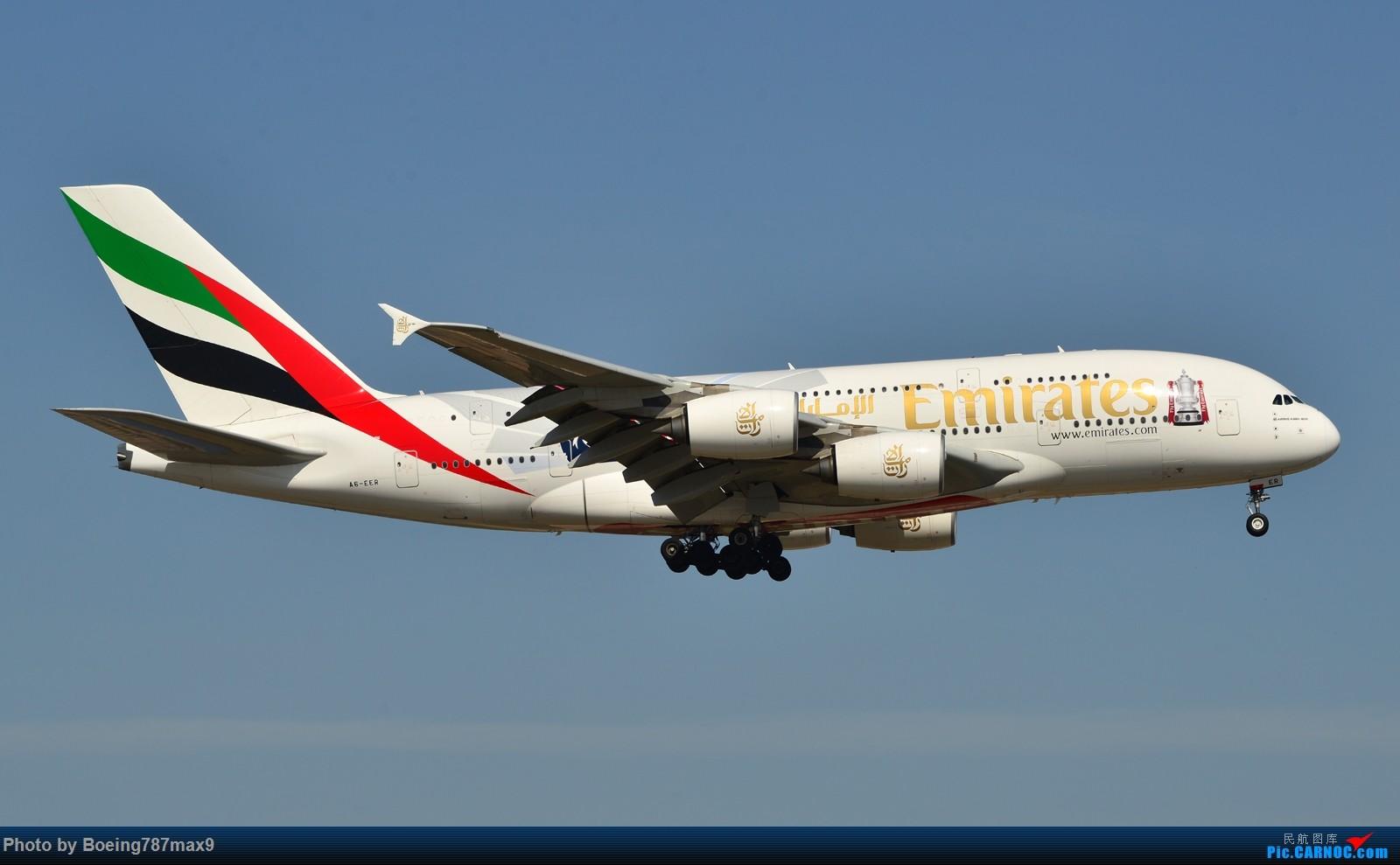 Re:[原创]【PEK】这家或第一次来北京,却正赶上南风。阿联酋380-800总足杯彩绘机『1600*高清大图』 AIRBUS A380-800 A6-EER 中国北京首都国际机场