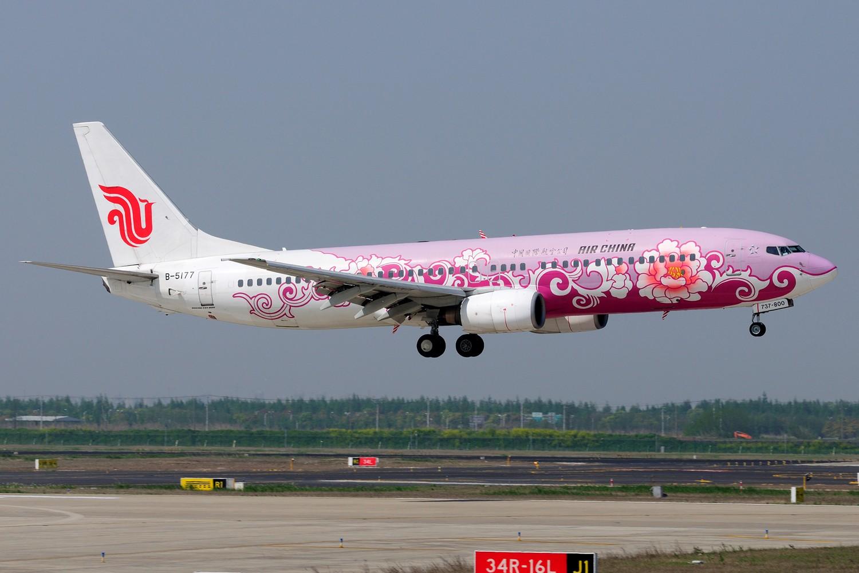 [原创]【PVG】炒点冷饭,PVG 34R一组~~ BOEING 737-800 B-5177 中国上海浦东国际机场