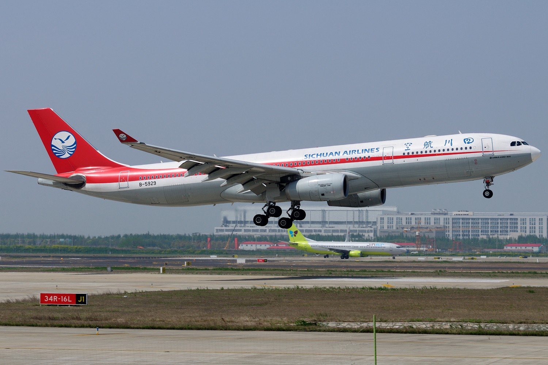 Re:[原创]【PVG】炒点冷饭,PVG 34R一组 AIRBUS A330-300 B-5929 中国上海浦东国际机场