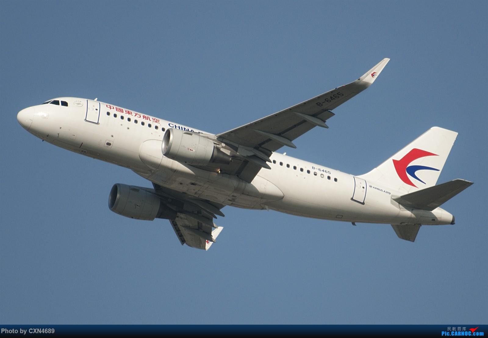 [原创]PVG杂图三张~ AIRBUS A319-100 B-6465 中国上海浦东国际机场