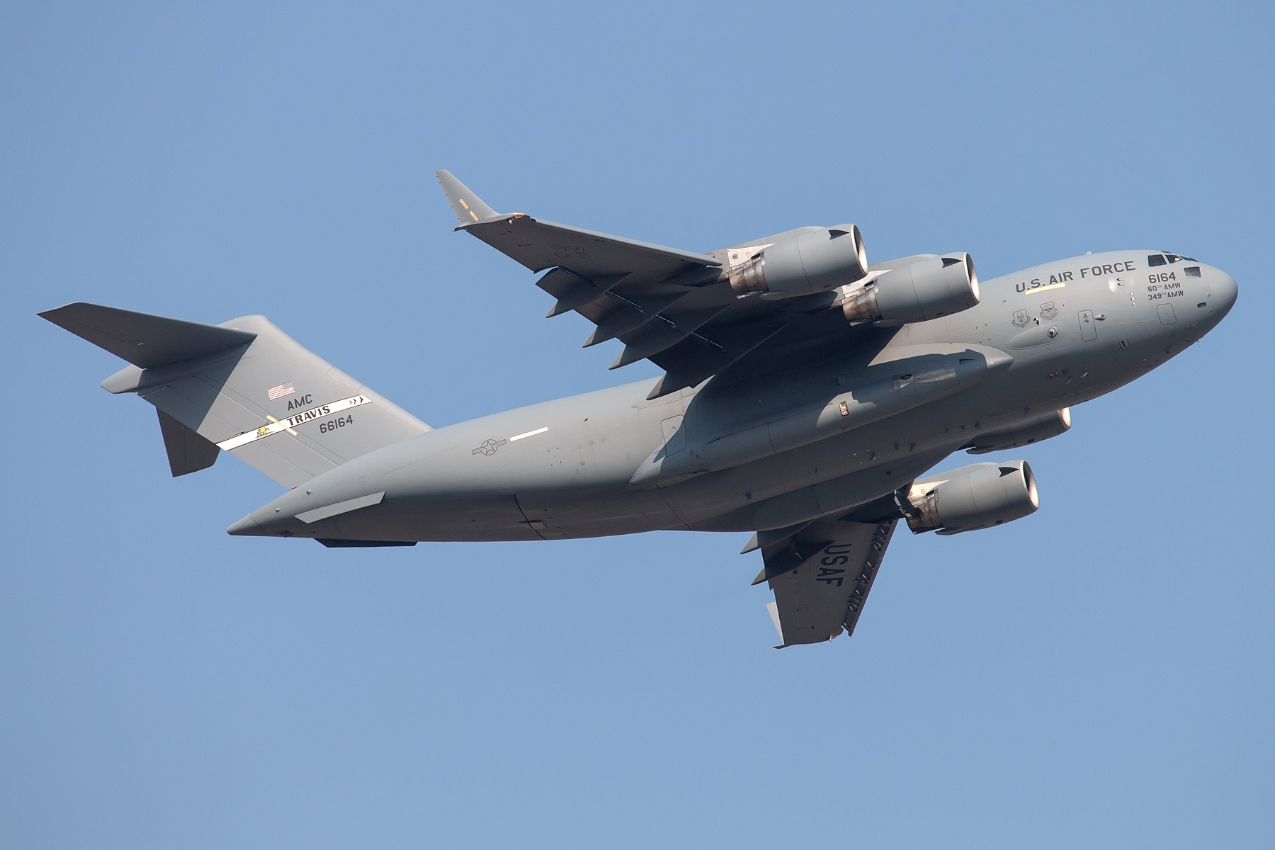 Re:[原创]C17 1800*1200 BOEING C-17A GLOBEMASTER III 06-6164 中国北京首都国际机场