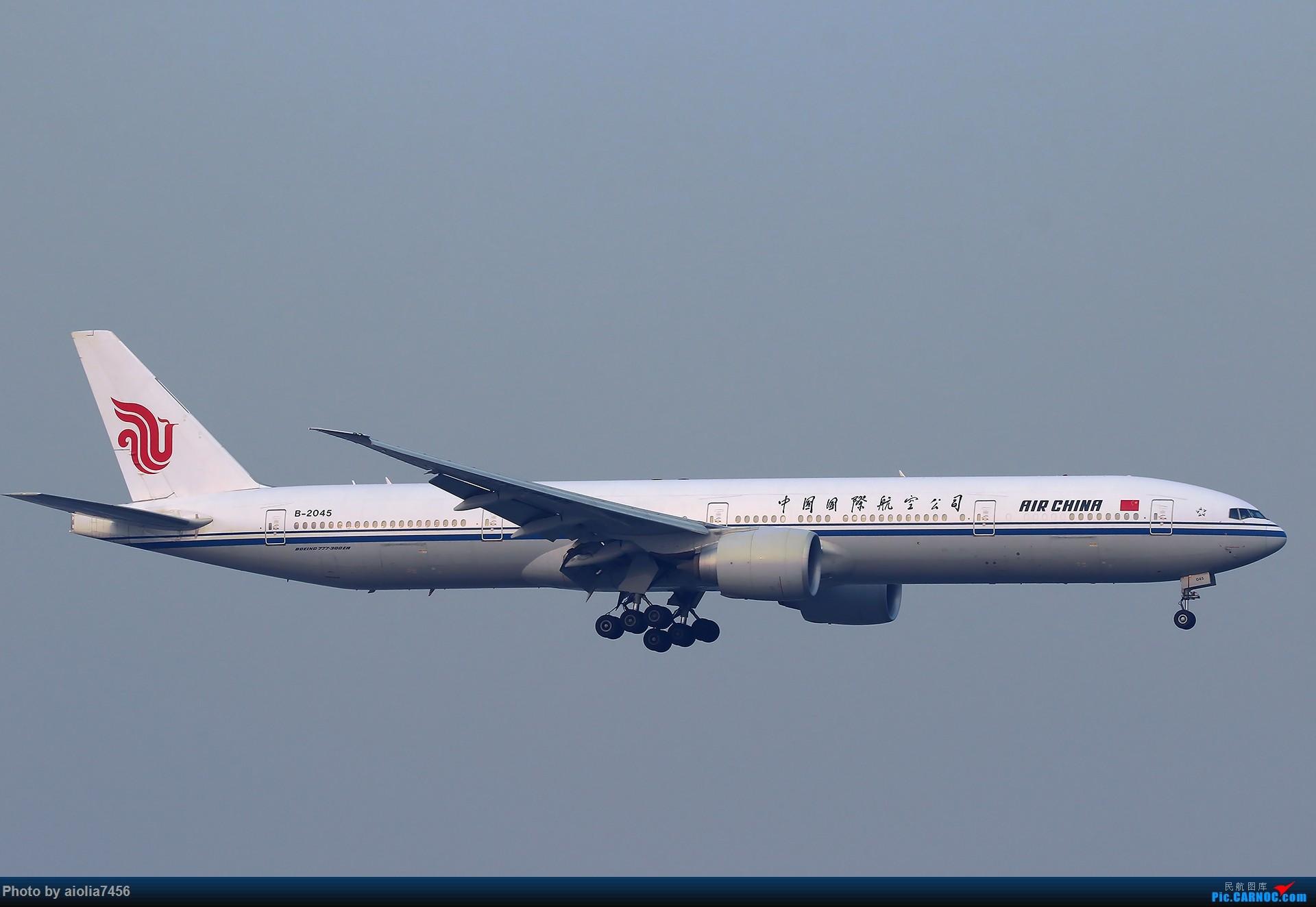 Re:[原创][合肥飞友会]【【村夫进城系列之四】原来上海大飞机看多了也会审美疲劳 BOEING 777-300ER B-2045 中国上海虹桥国际机场