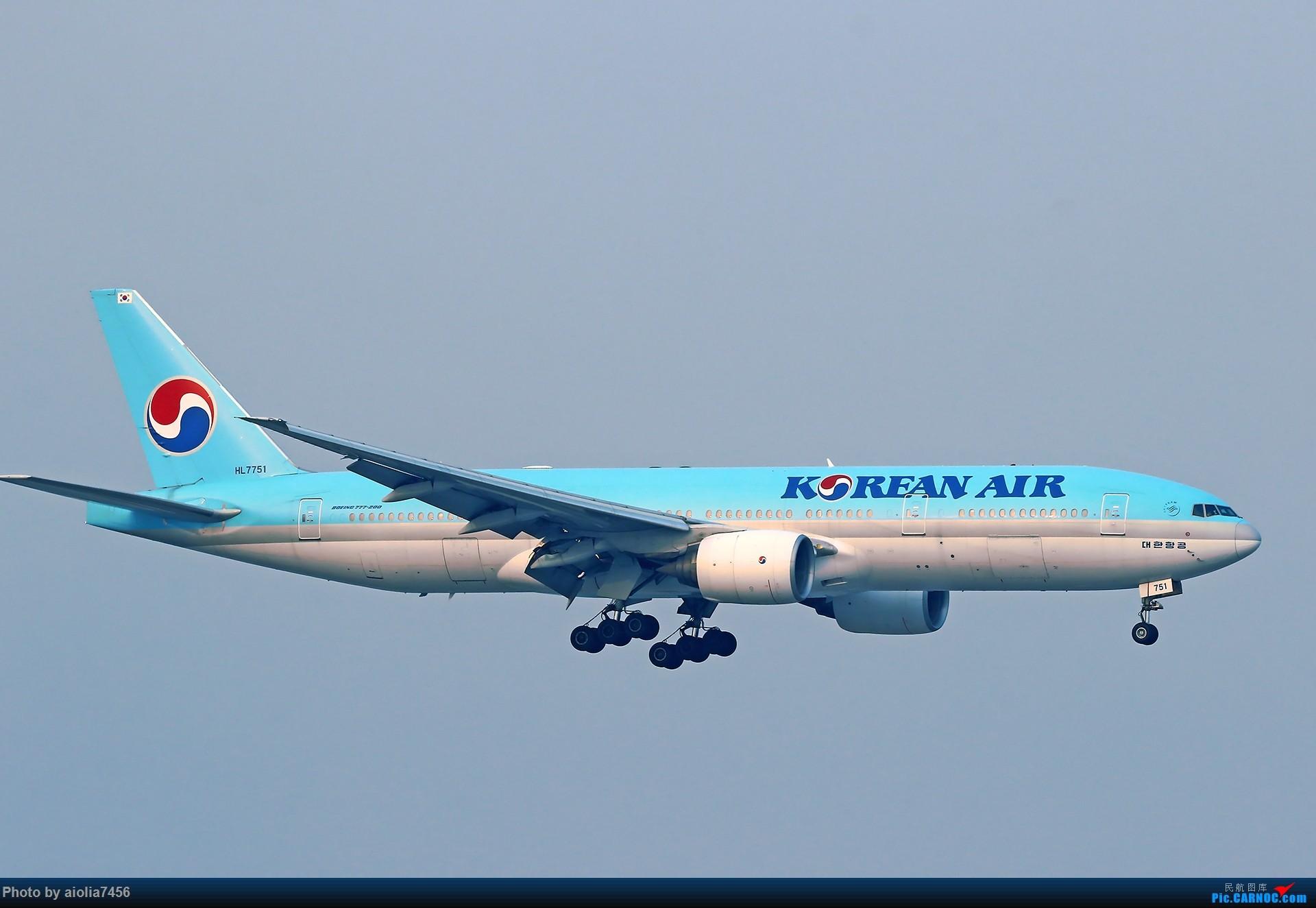 Re:[原创][合肥飞友会]【【村夫进城系列之四】原来上海大飞机看多了也会审美疲劳 BOEING 777-200 HL7751 中国上海虹桥国际机场
